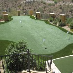 Multi-hole custom putting greens
