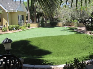 Custom putting green from SW Greens