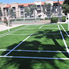 """Sierra Ranch Apts"" — Badminton Court"