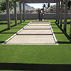 Bocce Ball Court with Lawn