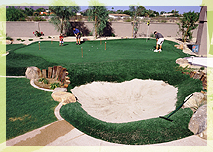 Phoenix putting green